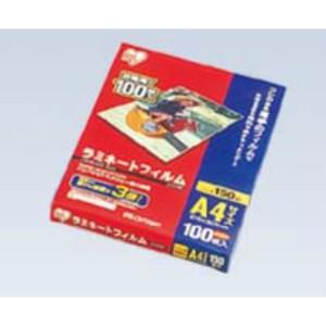 アイリスオーヤマ IRIS OHYAMA ラミネートフィルム(150ミクロン) A4(100枚入) 日用品・生活雑貨