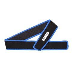 送料無料 ファイテン スポーツベルト [カラー:ブラック×ブルー] [サイズ:85×6cm] #AP210060 PHITEN スポーツ・アウトドア
