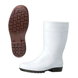 MIDORI ANZEN ミドリ安全 ハイグリップ長靴 HG2000N ホワイト 30cm キッチン用品