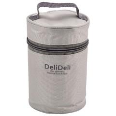 【お弁当箱 グレー】パール金属 PEARL METAL デリデリ フードマグ 400用バッグ グレー キッチン用品