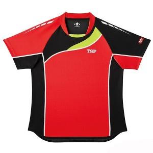 ティーエスピー TSP ブリランテシャツ 卓球ウェア [カラー:レッド] [サイズ:L] #031417-0040 スポーツ・アウトドア