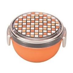 【宮本産業】 パレット ランチボウル どんぶり型 2段 オレンジ MIYAMOTOSANGYO キッチン用品