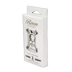 Roen エアコンルーパークリップ ホワイトムスクの香り #OA‐REN-3‐2カー用品