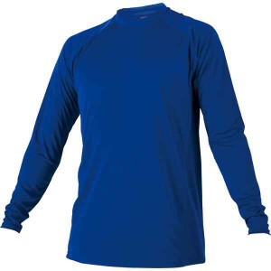 ゼット ZETT ローネック長袖ハイブリッドアンダーシャツ [カラー:ロイヤルブルー] [サイズ:S] #BO8710-2500 スポーツ・アウトドア