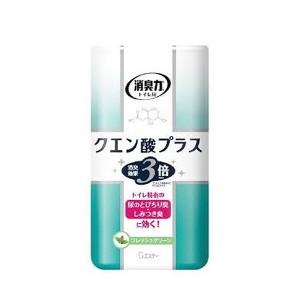 エステー S.T. トイレの消臭力 クエン酸プラス フレッシュグリーン 400ml 日用品・生活雑貨