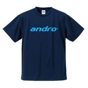 アンドロ ANDRO 卓球ゲームシャツ ナパTシャツ3 [カラー:ネイビー×ブルー] [サイズ:XS] #302055 スポーツ・アウトドア