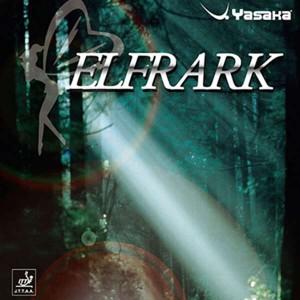ヤサカ YASAKA エルフラーク ELFRARK 卓球ラバー [カラー:ブラック] [サイズ:超極薄] #B-58-90 スポーツ・アウトドア