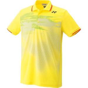 12%OFF 送料無料 ヨネックス UNI ポロシャツ(フィットスタイル) [カラー:ライトイエロー] [サイズ:M] #10162-279 YONEX