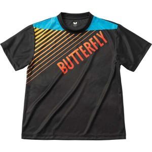 送料無料 バタフライ グラデイト・Tシャツ [カラー:ブラック] [サイズ:L] #45090-278 BUTTERFLY スポーツ・アウトドア