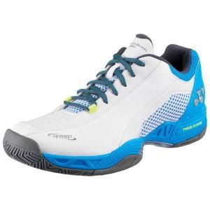 ヨネックス YONEX テニスシューズ パワークッション206D [サイズ:25.5cm] [カラー:ホワイト×スカイブルー] #SHT-206D-175