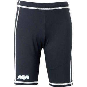 【エーキューエー】 UVラッシュパンツ ジュニア [サイズ:150] [カラー:ブラック] #KW-4609-40 AQA スポーツ・アウトドア