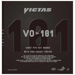 【ビクタス】 VO101 卓球 表ソフトラバー [カラー:ブラック] [サイズ:1.8] #020202-0020 VICTAS スポーツ・アウトドア