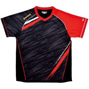 【ビクタス】 卓球アパレル V-SW036 ゲームシャツ(男女兼用) [カラー:レッド] [サイズ:XO] #031459-0040 VICTAS