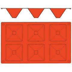 【マトファー】 ガストロフレックス ピラミッド L(1枚) 2579.21 MATFER キッチン用品