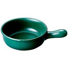 ミヤザキ食器 MIYAZAKI SYOKKI ヴァルカーニャ 片手キャセロール 14cm VL-114 緑 キッチン用品