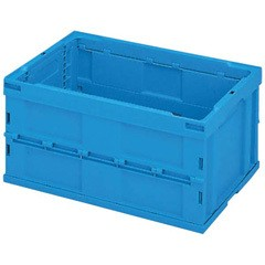 23%OFF 送料無料 【積水テクノ成型】セキスイ 折りたたみ式 コンテナー ブルー OC-75L-B SEKISUI TECHNO MOLDING キッチン用品
