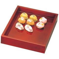 ヤマコー YAMAKO 溜塗 菓子用番重 大 310×420×H55(44120) キッチン用品