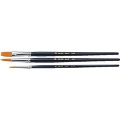 アーテック ARTEC 短軸ナイロン筆 3本組 日用品・生活雑貨