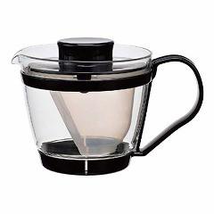 IWAKI イワキ レンジのポット茶器(ブラック) K863-BK キッチン用品