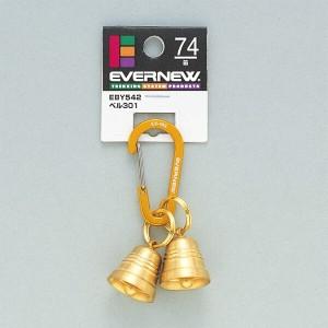 エバニュー EVERNEW ベル301 アクセサリーカラビナ103付 #EBY542 スポーツ・アウトドア