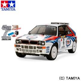 タミヤ TAMIYA 1/10 XB (エキスパート ビルト) No.158 ランチア デルタ インテグラーレ (TT-02シャーシ) 送料無料 玩具