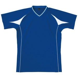 ゼット ベースボールVネックシャツ [カラー:ロイヤルブルー×ホワイト] [サイズ:L] #BOT760A ZETT 送料無料 スポーツ・アウトドア