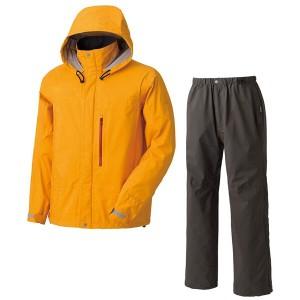 プロモンテ PUROMONTE ゴアテックス レインスーツ(メンズ) [カラー:オレンジ] [サイズ:M] #SR131M 送料無料 スポーツ・アウトドア