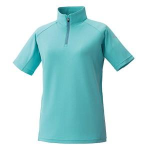 プロモンテ PUROMONTE トリプルドライカラット 半袖ジップシャツ(ウィメンズ) [カラー:ターコイズ] [サイズ:M] #TN149W