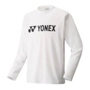 ヨネックス YONEX スポーツウェア ロングスリーブTシャツ(ユニセックス) [カラー:ホワイト] [サイズ:O] #16158 スポーツ・アウトドア
