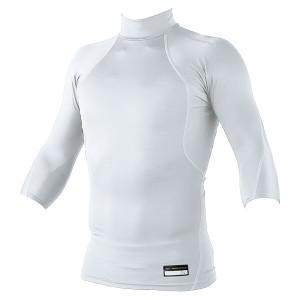ゼット プロステイタス フィジカルコントロールウェア ハイネック七分袖アンダーシャツ [カラー:ホワイト] [サイズ:S] #BPRO555Z ZETT