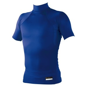 ゼット プロステイタス フィジカルコントロールウェア ハイネック半袖アンダーシャツ [カラー:ロイヤルブルー] [サイズ:S] #BPRO111Z