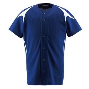 野球用 ユニフォームシャツ カラーコンビネーションシャツ(フルオープン) DB-1013 [サイズ:XA] #DB-1013 スポーツ・アウトドア