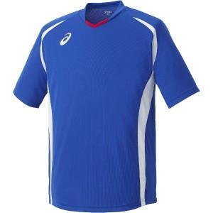 アシックス ASICS サッカー用 ゲームシャツHS XS1140 [カラー:ブルー] [サイズ:XO] #XS1140 スポーツ・アウトドア