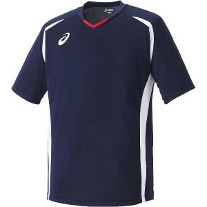 アシックス ASICS サッカー用 ゲームシャツHS XS1140 [カラー:ネイビー] [サイズ:XO] #XS1140 スポーツ・アウトドア