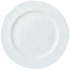 【ウェッジウッド】 W・W ホワイトコノート フラットプレート 23cm 53610003107 WEDGWOOD キッチン用品