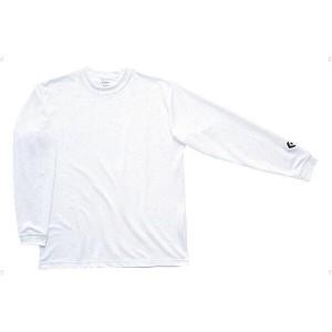 コンバース CONVERSE ロングスリーブシャツ CB451324L [カラー:ホワイト] [サイズ:160] #CB451324L-1100 スポーツ・アウトドア