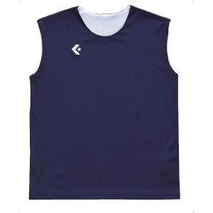 コンバース ウィメンズリバーシブルノースリーブシャツ CB33704 [カラー:ネイビー×ホワイト] [サイズ:ML] #CB33704-2911 CONVERSE
