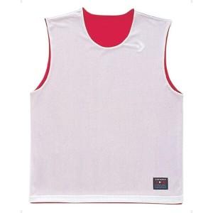 コンバース CONVERSE リバーシブルノースリーブシャツ CB24730 [カラー:レッド×ホワイト] [サイズ:ML] #CB24730-6411
