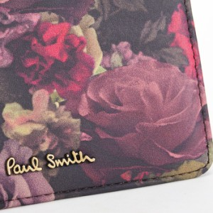 ポールスミス Paul Smith パスケース 定期入れ カードケース オータムローズ(内側:茶色) pww930-17 レディース 婦人