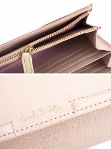ポールスミス 財布 長財布 ピンク Paul Smith pwu824-24 レディース 婦人
