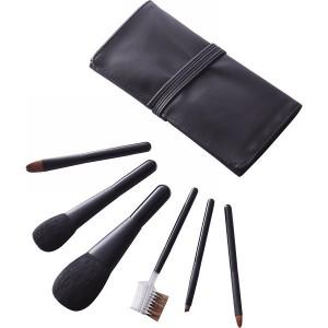 熊野化粧筆セット 筆の心 ブラシ専用ケース付美容 コスメ メイク道具/KFi−K258