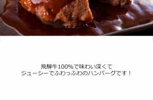 【送料無料】(冷凍)【まとめ買い!】飛騨牛ハンバーグ120g×6個牛肉/岐阜県/飛騨牛/ブランド牛/1