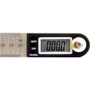 デジタル角度計 分度器 20cm定規【角度計測と定規の2つ機能】[メール便発送、送料無料、代引不可]