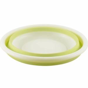 カクセー おりたたみ式 洗い桶 丸型 33cm[送料無料(一部地域を除く)]