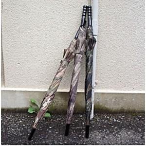 ミリタリー 迷彩柄 8本骨 直径100cm大型洋傘 マルチ柄