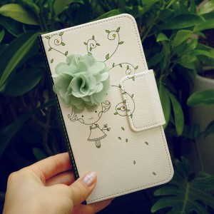 MrH(ミスターエイチ)スマホウォレットケース/花の香り By iphone6plus