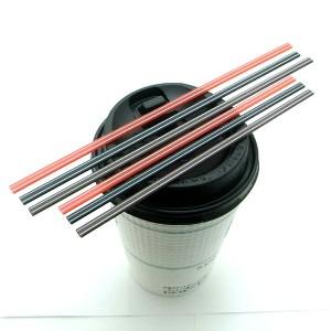 ホットコーヒー用マドラーストロー/3色セット(18cm) 計3000本入り