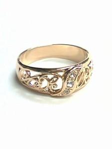 《日本製 オーダーメイド》Shirogane 指輪◆透かし唐草☆トライバルリング【ri-l-me-kip-om】sign