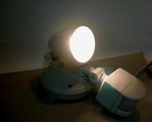 セキュリティセンサーライト1灯型MSL-75H1
