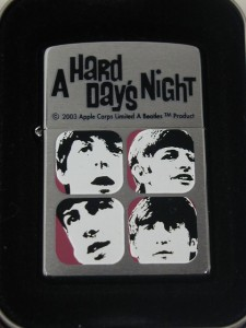 ビートルズZippo Beatles Hard Days Night 4人の